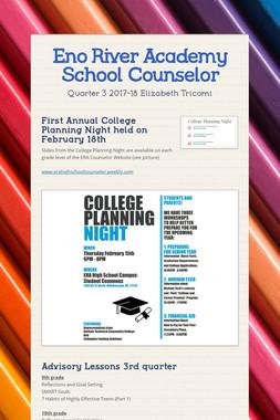 Eno River Academy School Counselor