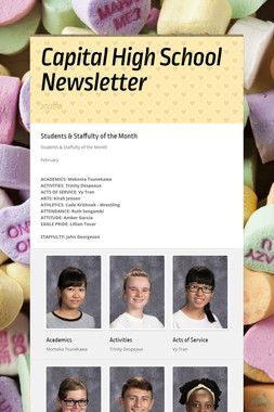 Capital High School Newsletter
