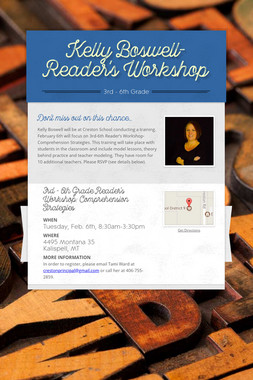 Kelly Boswell-Reader's Workshop