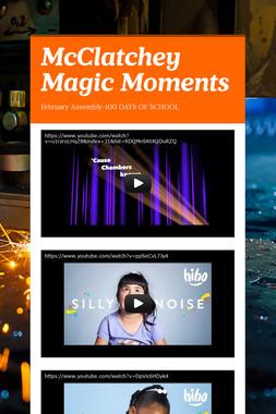 McClatchey Magic Moments