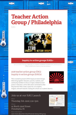 Teacher Action Group / Philadelphia