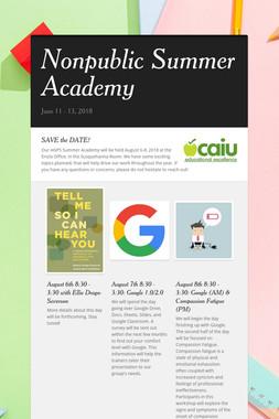 Nonpublic Summer Academy