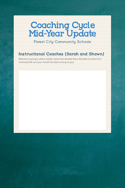 Coaching Cycle Mid-Year Update