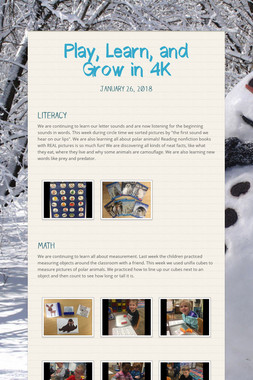 Play, Learn, and Grow in 4K