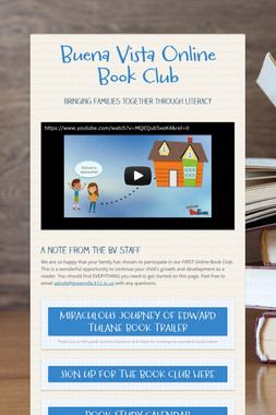 Buena Vista Online Book Club