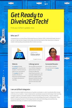 Get Ready to Divein2EdTech!