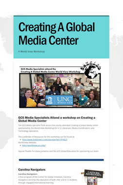 Creating A Global Media Center