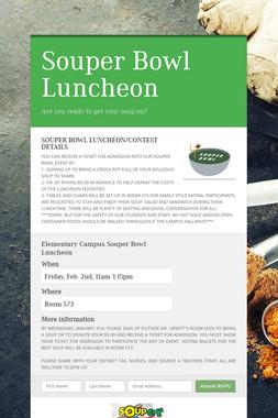 Souper Bowl Luncheon