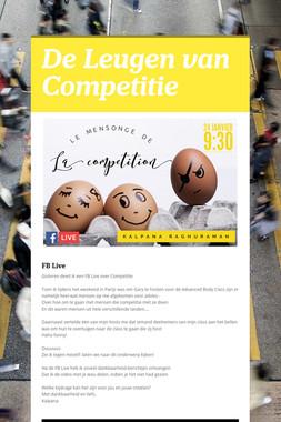 De Leugen van Competitie