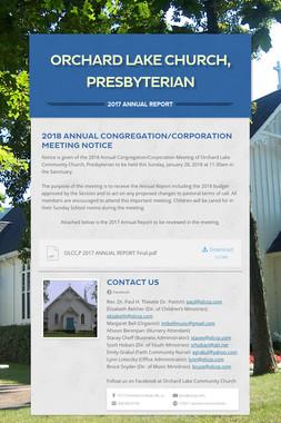 Orchard Lake Church, Presbyterian