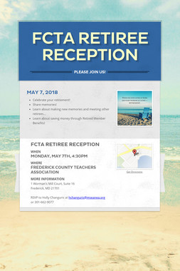 FCTA Retiree Reception