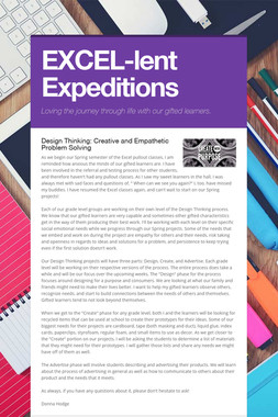 EXCEL-lent Expeditions