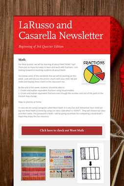 LaRusso and Casarella Newsletter