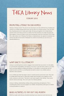 T4EA Literacy News