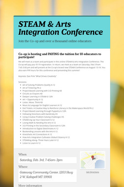 STEAM & Arts Integration Conference