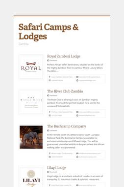 Safari Camps & Lodges