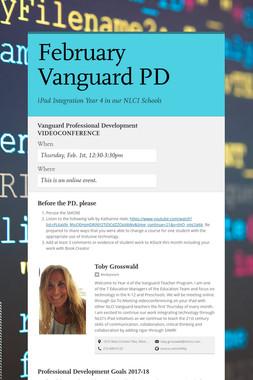 February Vanguard  PD