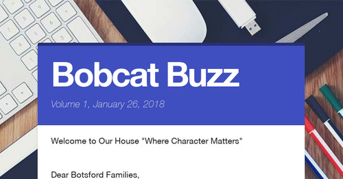 Bobcat Buzz   Smore Newsletters for Education