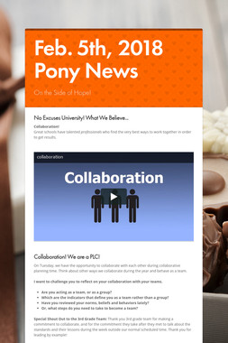 Feb. 5th, 2018 Pony News