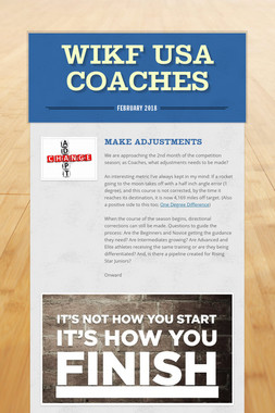 WIKF USA Coaches