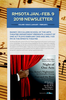 RMSOTA  Jan.-Feb. 9 2018 Newsletter
