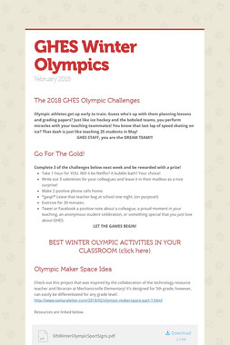GHES Winter Olympics
