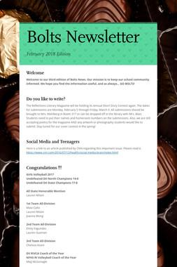 Bolts  Newsletter
