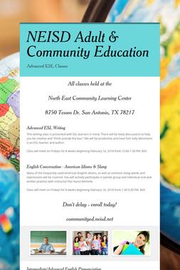 NEISD Adult & Community Education