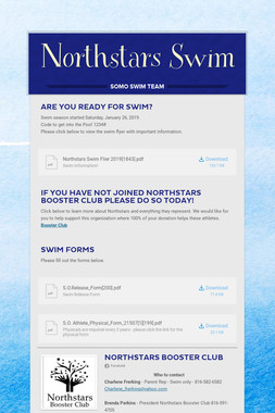 Northstars Swim