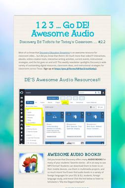 1 2 3 ... Go DE! Awesome Audio