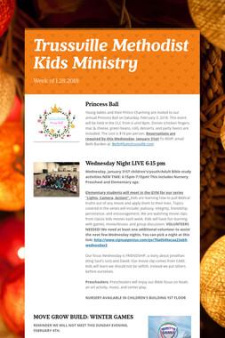 Trussville Methodist Kids Ministry