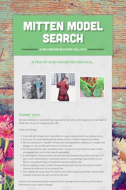 Mitten Model Search