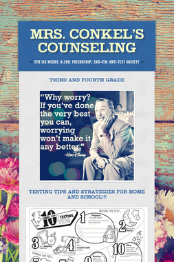 Mrs. Conkel's Counseling