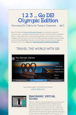 1 2 3 ... Go DE!   Olympic Edition