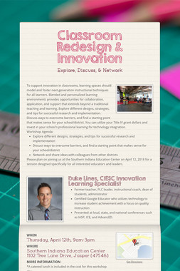 Classroom Redesign & Innovation