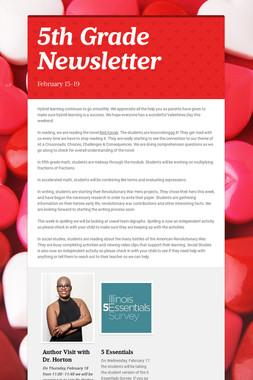 5B Newsletter