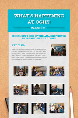 What's Happening at OGHS!