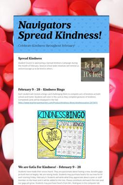 Navigators Spread Kindness!