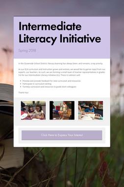 Intermediate Literacy Initiative