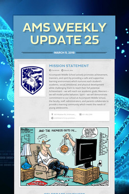 AMS Weekly Update 25