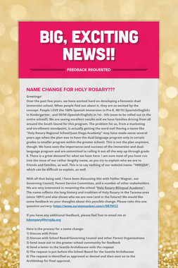 Big, Exciting News!!