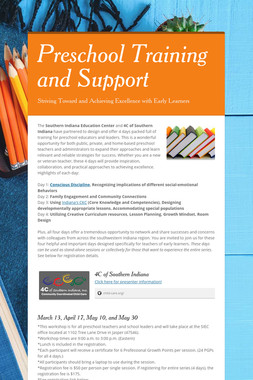 Preschool Training and Support