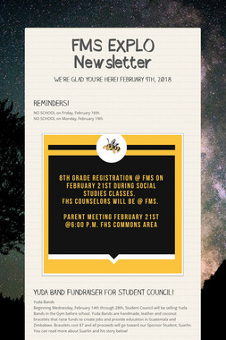 FMS EXPLO Newsletter