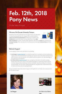 Feb. 12th, 2018 Pony News