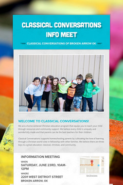 Classical Conversations Info Meet