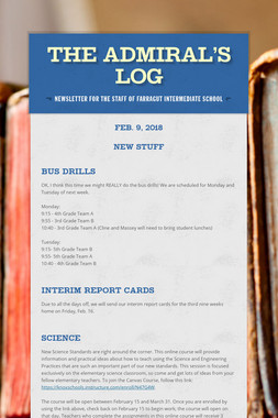 The Admiral's Log