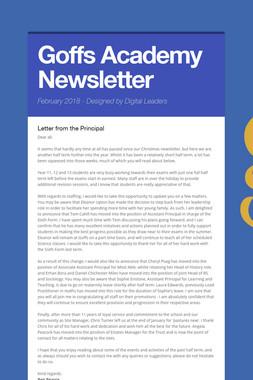 Goffs Academy Newsletter