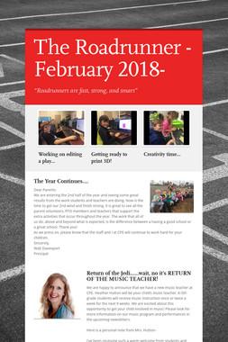 The Roadrunner -February 2018-