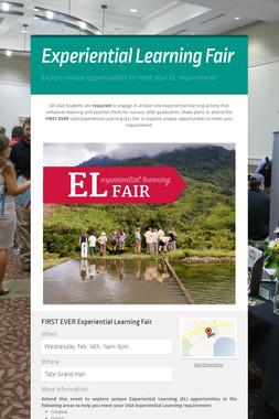 Experiential Learning Fair