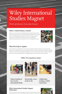 Wiley International Studies Magnet